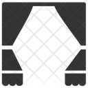 Curtain Theater Stage Icon
