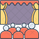Theater Cinema Audience Icon