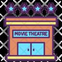 Building Theater Cinema Icon