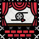 Theater Cinema Film Icon