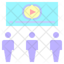 Theater Curtain Stage Icon