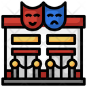 Theater Entertainment Building Icon