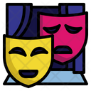 Theatre Mask Comedy Mask Theater Icon