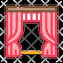 Theatrical Curtain Theatre Icon
