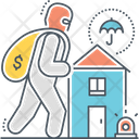 Theft Insurance Icon