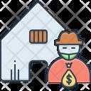 Theft Vandalism Icon