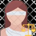 Themis Scales Law Icon