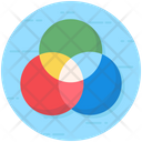 Theme Circles Diagram Overlapping Icon