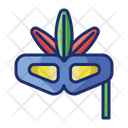 Theme Party Mask Maskquerade Icon