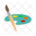 Themes Color Plate Icon
