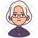 Woman Avatar Assistant Icon