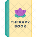 Therapy Book Book Therapy Icon