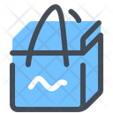 Thermal Bag Food Delivery Shipping Icon