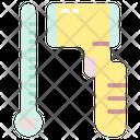 Thermal Gun Protocol Thermometer Icon