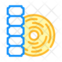 Thermal Label Color Icon