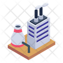 Thermal Plant Power Station Thermoelectric Plant Icon