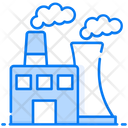 Thermal Pollution Eco Factory Eco Manufacturing Icon