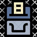 Thermal Printer Icon