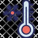 Celsius Fahrenheit Temperature Icon