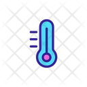 Heating Coolung Thermometer Icon