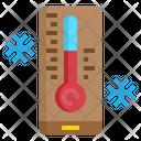 Thermometer Snow Winter Icon
