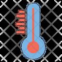 Celsius Fahrenheit Heat Icon
