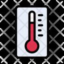 Temperature Thermometer Fever Icon