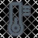 Cold Temperature Thermometer Icon