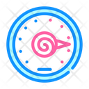 Outdoor Spring Thermometer Icon