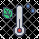 Thermometer Autumn Humidity Icon