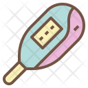 Thermometer Baby Fever Icon