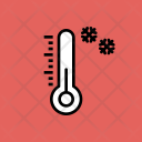 Thermometer Cold Snow Icon