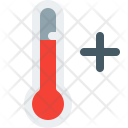 Thermometer Plus Temperature Icon