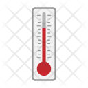 Thermometer Hot Summer Icon