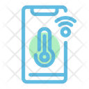 Thermometer Application Temperature Phone Icon