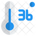Thermometer Degree Normal Normal Degree Thermometer Icon