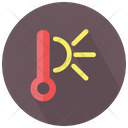 Thermometer High Temperature Icon