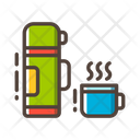 Flask Bottle Cup Icon