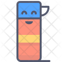 Thermos Thermos Flask Isolation Icon