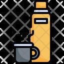 Bottle Hot Drink Icon