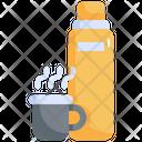 Bottle Coffee Drinks Icon