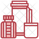 Thermo Flask Food And Restaurant Tools And Utensils Icon