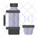 Thermo Coffee Cup Drink Icon