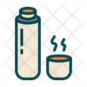 Thermos Drink Coffee Icon