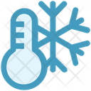Thermostat Snow Cold Icon