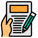 Thesis Study Research Icon