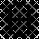 Theta Greek Alphabet Icon