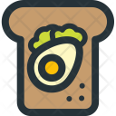 Thick Sandwich Icon