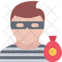 Thief Money Bag Icon