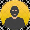 Mugger Detective Criminal Icon